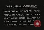Image of Russian soldiers Eastern Front European Theater, 1943, second 13 stock footage video 65675063231
