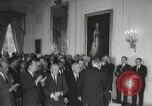 Image of President Johnson signs Civil Rights Act Washington DC USA, 1964, second 30 stock footage video 65675063243