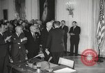 Image of President Johnson signs Civil Rights Act Washington DC USA, 1964, second 31 stock footage video 65675063243