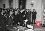Image of President Johnson signs Civil Rights Act Washington DC USA, 1964, second 32 stock footage video 65675063243