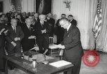 Image of President Johnson signs Civil Rights Act Washington DC USA, 1964, second 38 stock footage video 65675063243