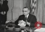 Image of President Johnson signs Civil Rights Act Washington DC USA, 1964, second 42 stock footage video 65675063243