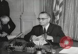 Image of President Johnson signs Civil Rights Act Washington DC USA, 1964, second 43 stock footage video 65675063243