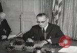 Image of President Johnson signs Civil Rights Act Washington DC USA, 1964, second 45 stock footage video 65675063243