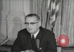 Image of President Johnson signs Civil Rights Act Washington DC USA, 1964, second 47 stock footage video 65675063243