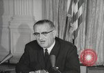 Image of President Johnson signs Civil Rights Act Washington DC USA, 1964, second 48 stock footage video 65675063243