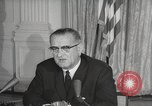 Image of President Johnson signs Civil Rights Act Washington DC USA, 1964, second 52 stock footage video 65675063243