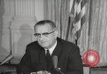 Image of President Johnson signs Civil Rights Act Washington DC USA, 1964, second 55 stock footage video 65675063243