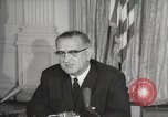 Image of President Johnson signs Civil Rights Act Washington DC USA, 1964, second 61 stock footage video 65675063243