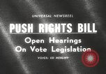 Image of Johnson urges passage of Voting Rights Act United States USA, 1965, second 2 stock footage video 65675063247
