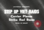 Image of United States aircraft carrier Pacific Ocean, 1965, second 2 stock footage video 65675063252