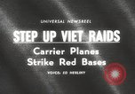 Image of United States aircraft carrier Pacific Ocean, 1965, second 3 stock footage video 65675063252