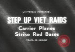 Image of United States aircraft carrier Pacific Ocean, 1965, second 4 stock footage video 65675063252