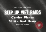 Image of United States aircraft carrier Pacific Ocean, 1965, second 5 stock footage video 65675063252