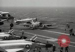 Image of United States aircraft carrier Pacific Ocean, 1965, second 17 stock footage video 65675063252