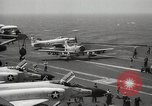 Image of United States aircraft carrier Pacific Ocean, 1965, second 18 stock footage video 65675063252