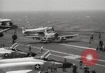 Image of United States aircraft carrier Pacific Ocean, 1965, second 19 stock footage video 65675063252