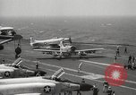 Image of United States aircraft carrier Pacific Ocean, 1965, second 20 stock footage video 65675063252