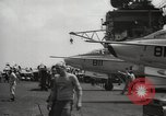 Image of United States aircraft carrier Pacific Ocean, 1965, second 23 stock footage video 65675063252
