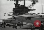 Image of United States aircraft carrier Pacific Ocean, 1965, second 24 stock footage video 65675063252