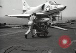 Image of United States aircraft carrier Pacific Ocean, 1965, second 30 stock footage video 65675063252