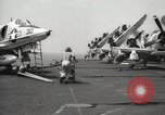 Image of United States aircraft carrier Pacific Ocean, 1965, second 33 stock footage video 65675063252