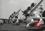 Image of United States aircraft carrier Pacific Ocean, 1965, second 39 stock footage video 65675063252