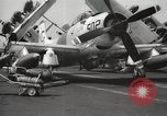 Image of United States aircraft carrier Pacific Ocean, 1965, second 41 stock footage video 65675063252