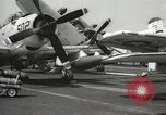 Image of United States aircraft carrier Pacific Ocean, 1965, second 43 stock footage video 65675063252