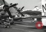 Image of United States aircraft carrier Pacific Ocean, 1965, second 44 stock footage video 65675063252