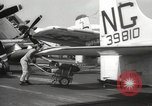 Image of United States aircraft carrier Pacific Ocean, 1965, second 46 stock footage video 65675063252