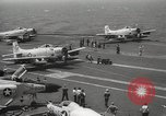 Image of United States aircraft carrier Pacific Ocean, 1965, second 59 stock footage video 65675063252