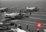 Image of United States aircraft carrier Pacific Ocean, 1965, second 60 stock footage video 65675063252