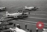 Image of United States aircraft carrier Pacific Ocean, 1965, second 61 stock footage video 65675063252