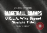 Image of basketball match Portland Oregon USA, 1965, second 3 stock footage video 65675063255