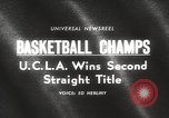 Image of basketball match Portland Oregon USA, 1965, second 4 stock footage video 65675063255