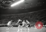 Image of basketball match Portland Oregon USA, 1965, second 44 stock footage video 65675063255