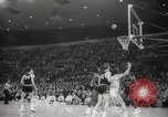 Image of basketball match Portland Oregon USA, 1965, second 47 stock footage video 65675063255