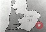 Image of dam on Zuider Zee Netherlands, 1940, second 13 stock footage video 65675063271