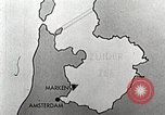 Image of dam on Zuider Zee Netherlands, 1940, second 18 stock footage video 65675063271
