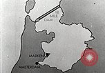 Image of dam on Zuider Zee Netherlands, 1940, second 26 stock footage video 65675063271