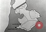 Image of dam on Zuider Zee Netherlands, 1940, second 46 stock footage video 65675063271