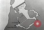 Image of dam on Zuider Zee Netherlands, 1940, second 49 stock footage video 65675063271