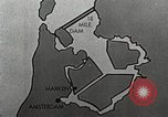 Image of dam on Zuider Zee Netherlands, 1940, second 56 stock footage video 65675063271
