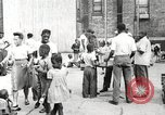 Image of African American children in Harlem New York City USA, 1935, second 4 stock footage video 65675063279