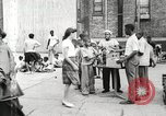 Image of African American children in Harlem New York City USA, 1935, second 7 stock footage video 65675063279
