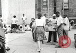 Image of African American children in Harlem New York City USA, 1935, second 8 stock footage video 65675063279