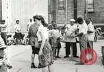 Image of African American children in Harlem New York City USA, 1935, second 15 stock footage video 65675063279