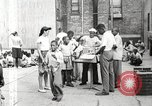 Image of African American children in Harlem New York City USA, 1935, second 17 stock footage video 65675063279