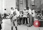 Image of African American children in Harlem New York City USA, 1935, second 24 stock footage video 65675063279
